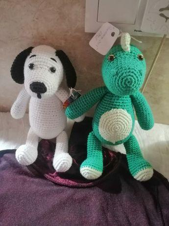Ново ръчно Плетено куче и нова светеща диадема за коса,, Мини Маус,,