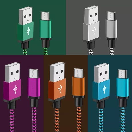 USB кабел стандртен и Tipe C 2 и 3 метра