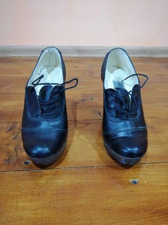 Pantofi dama talpa ortopedica piele naturală măsura 37
