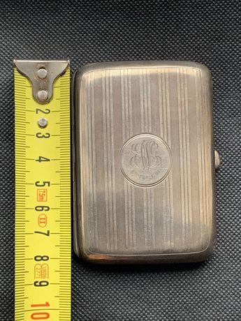 Tabacheră argint vechi/antic 1911 - marcaj Anglia