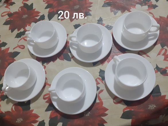 Чаши за кафе различни видове