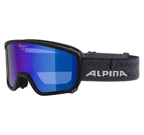 Alpina SCARABEO MM, нова, оригинална унисекс ски/сноубова маска/очила