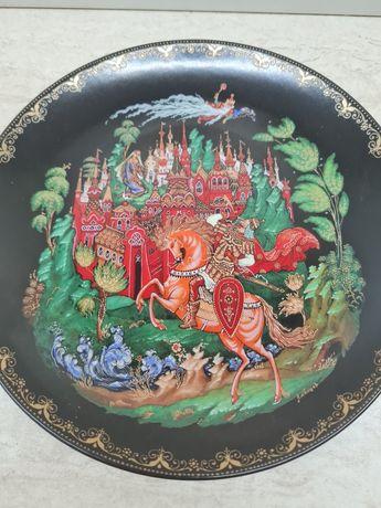 """Декоративна чиния от поредицата """"Руски приказки"""""""