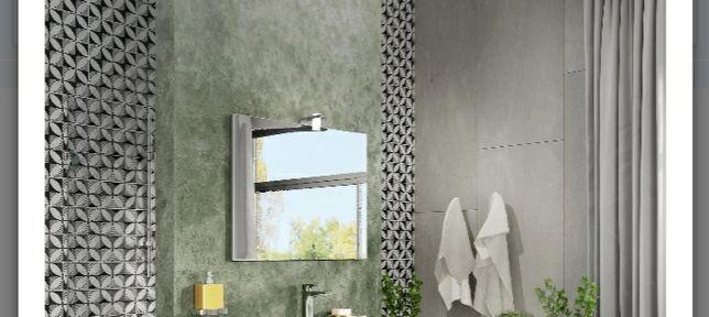 Oglinda baie 80x60 cu aplica iluminat led