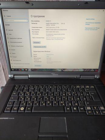 """Ноутбук 15"""" Fujitsu продам"""