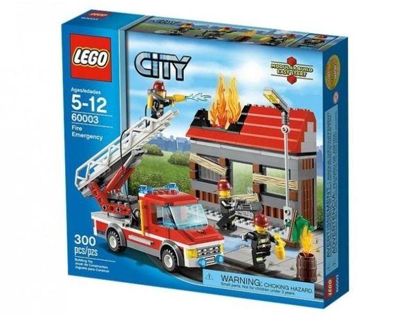 Lego City,60003, Alarma de incendiu