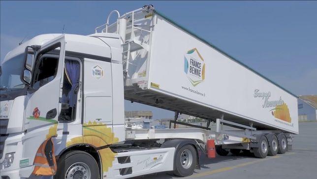 Transport cereale/vrac cu bena multifunctionala 65m3 !
