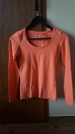 Цвят корал дамска блуза S размер