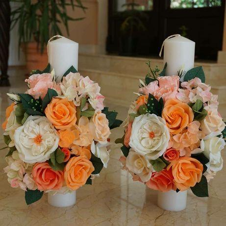 Aranjamente florale de hartie