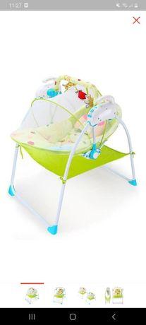 Шезлонг качели для малышей, колыбель