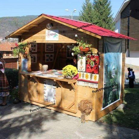 Дървени павилиони / Дървени къщи