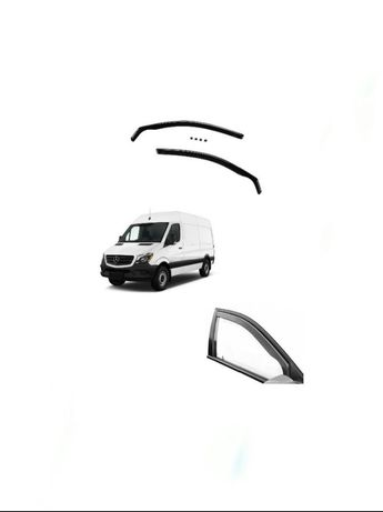 Ветробрани Mercedes SPRINTER W906 (2006-2018) - ЦЕЛИ/ПРЕДНИ - (2бр)
