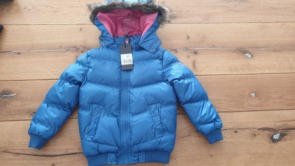 Зимно яке момиче, размери 3-4 години, 5-6 години
