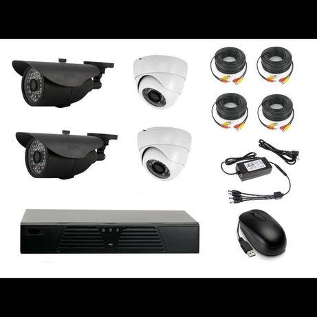 Комплект камеры видеонаблюдения