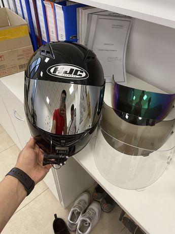 Шлем  HJC и перчатки