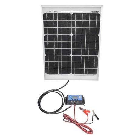 Panou solar 20W fotovoltaic monocristalin 450x340x20mm nou Agramix