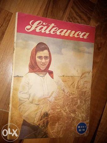 colectie mare de reviste vechi:femeia,romania pitoreasca,cutezatorii