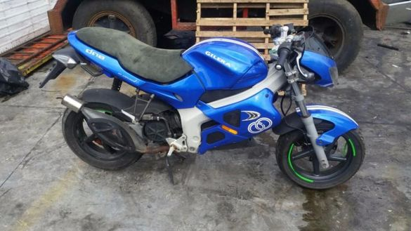Мотоциклет,скутер Джилера Д.Н.А (Gilera DNA ) 50 на части