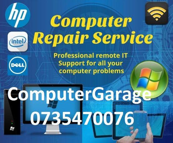 Instalare Windows 10 8 7 cu licenta + reparatii PC laptop, devirusare