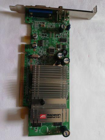 Placa video Radeon x300se 128 mb