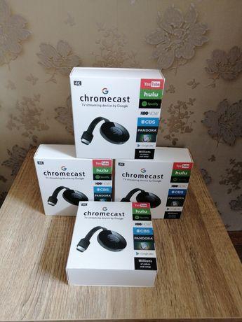 Мултимедиен плеър  Chromecast, HDMI, 4K,