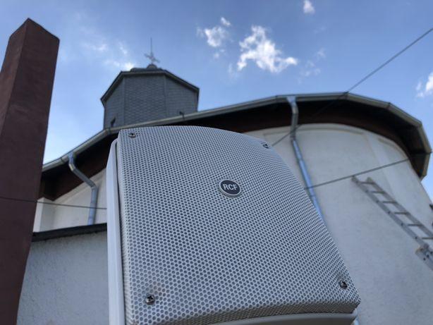 Instalatii sunet biserici, sonorizare biserica, boxe biserici
