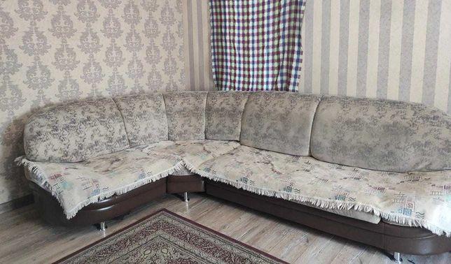 Угловой диван и кресло двойка
