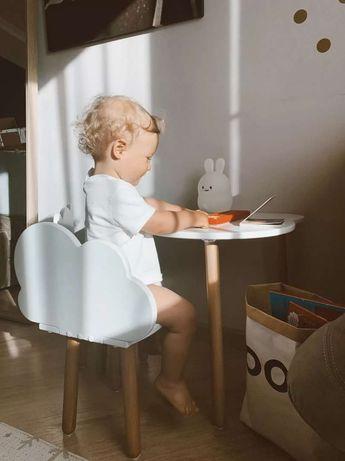 """Стол детский Happy Baby """"OBLAKO TABLE"""" (белый )"""
