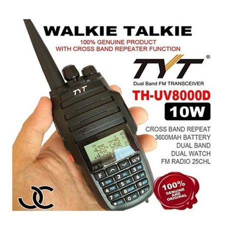 Двубандова Радиостанция TYT TH-UV 8000D 10w