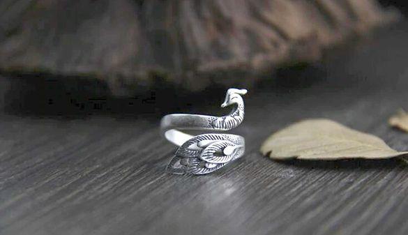 Пръстен Тибетско сребро - регулиращ се