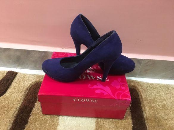 Обувки с ток