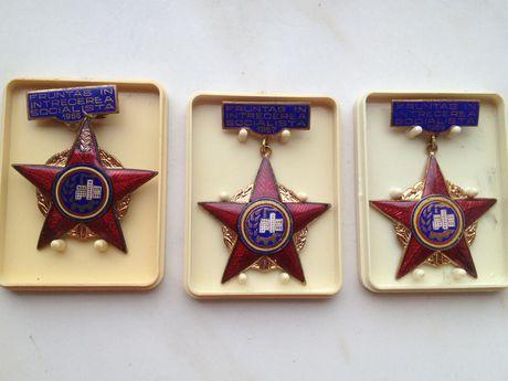 Medalii Fruntas Intrecerea Socilalista 1966/67/69