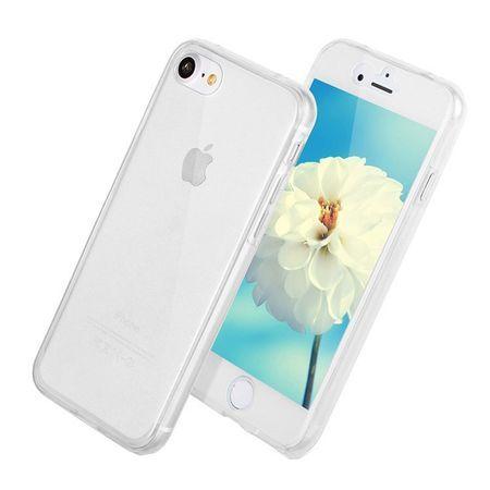 Capac de protectie Full TPU 360° (fata + spate) pt iPhone 6/6S Plus