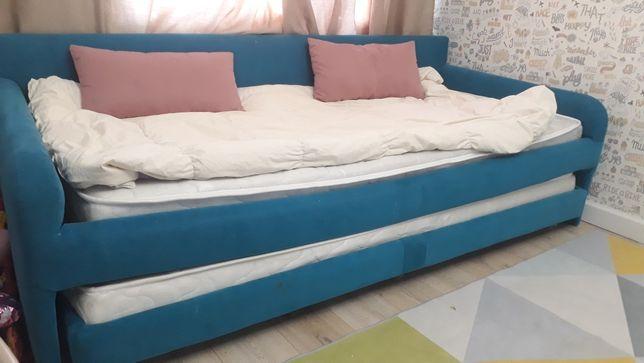 кровать диван трансформер двухспальный