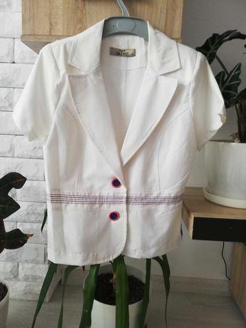 Бяло  лятно сако