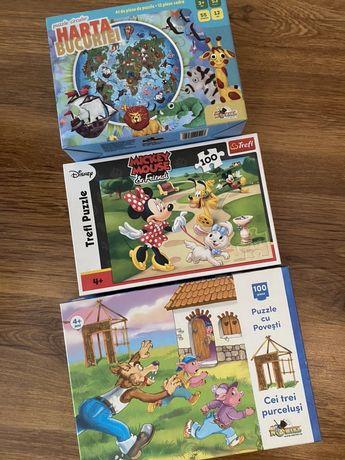Puzzle - 3 seturi de puzzle