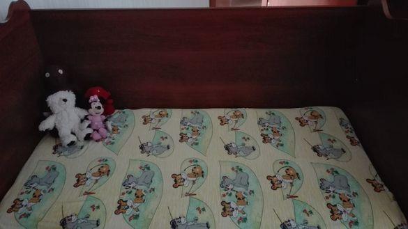 Продавам детско легло - люлка
