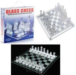 Елегантен стъклен шах