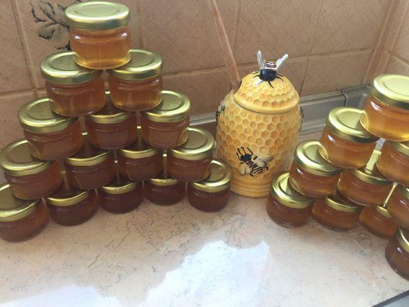 Бурканчета с мед 25 мл. за сватба или кръщене-1.00 лв/бр.
