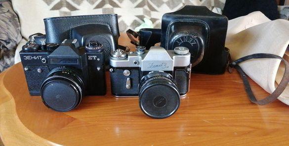 Продавам два фотоапарата Зенит