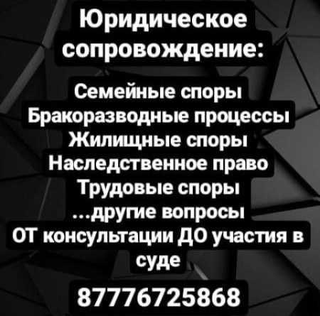 Юрист Манаева. Юридические услуги