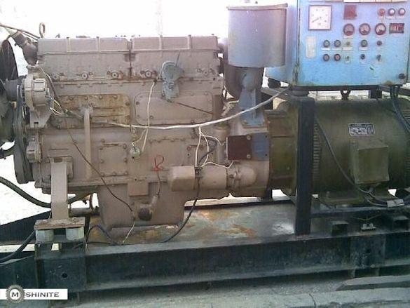 агрегат за ток 100 кв 180 моточаса с двигател Лейланд
