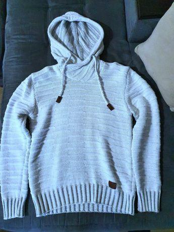 Мъжка пуловер плетен