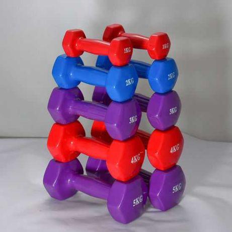 Гири за Фитнес, Гирички 1 - 5 кг , Гира за Аеробика , Дъмбели