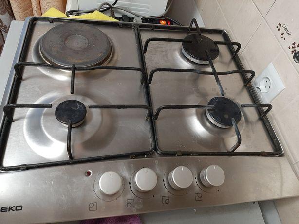 Продам комбинированную плиту с вытяжкой