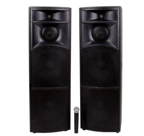 Set 2 boxe profesionale active model Vlliodor NRS2020 microfon 920W