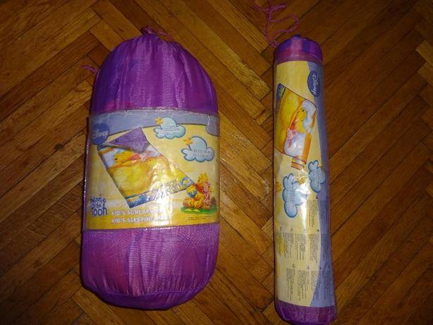 -50 % Reducere,Set Sac de Dormit+Saltea Izopren Winnie The Pooh Disney