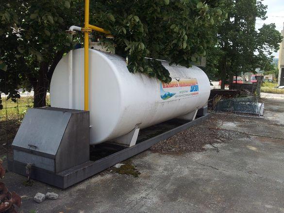 модулна бензиностанция с обем 10 мЗ