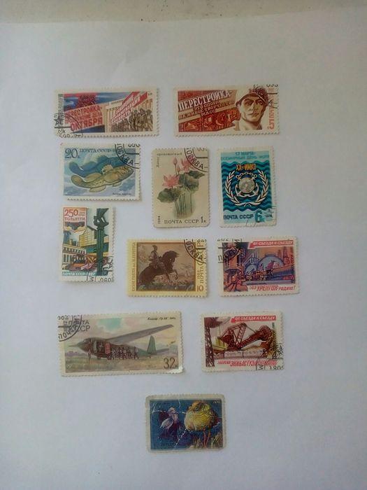 марки гашенные и негашенные Абай - изображение 1