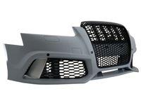 Bara fata Audi A6 4F C6 (04-10) RS6 Design + grila centrala fagure